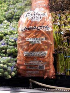 really big carrots