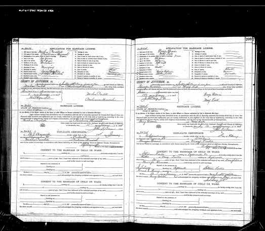 Gdovin George-Lork Mary-Marriage 18980205