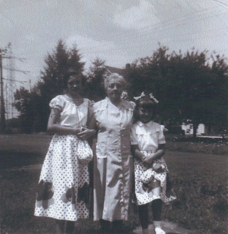 Judith Adair; Mary Larko; Nancy Adair
