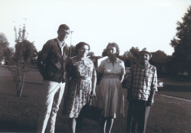 with Robert Gdovin, Angelina, Josephine Trail Gdovin