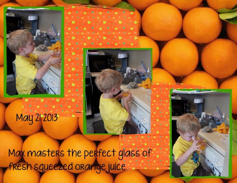 05 21 2013 Orange Juice