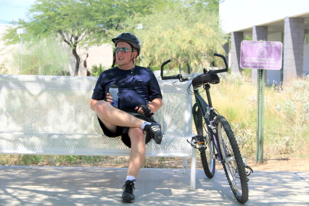 Bicycling thru Tucson