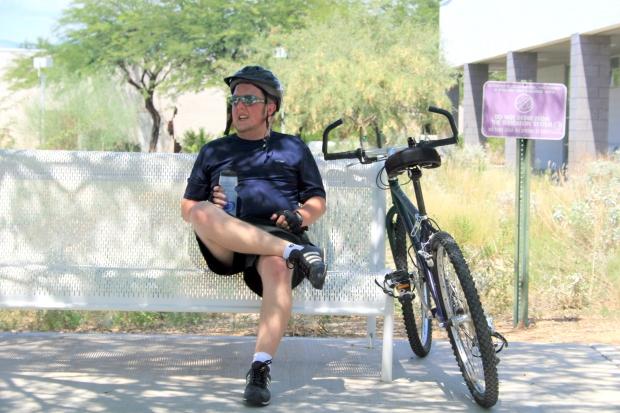 Bicycling thru Tucson